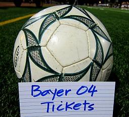 Bayer 04 Fussballtickets