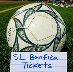 boletos para SL Benfica