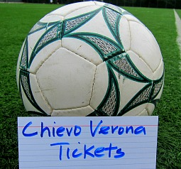 chievo verona tickets