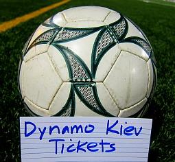 Dynamo Kiev soccer tickets