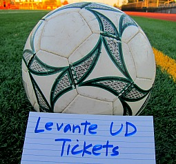 Levante soccer tickets