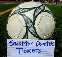 shakhtar donetsk tickets