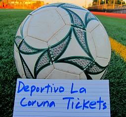 Deportivo la Coruna tickets